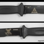 Gerber Prodigy with Laser Engraving