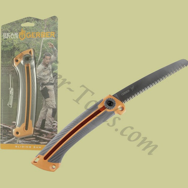 Gerber Bear Grylls Ultimate Sliding Saw 31-001058 Get it at www.Gerber-Tools.com gerbergear gerberknives knives knife