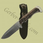 Gerber Freeman Stag Drop Point 22-01832 Get it at www.Gerber-Tools.com