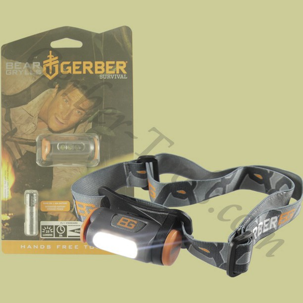 Gerber Bear Grylls Hands Free Torch 31-0001028Get it at www.Gerber-Tools.com gerbergear gerberknives knives knife