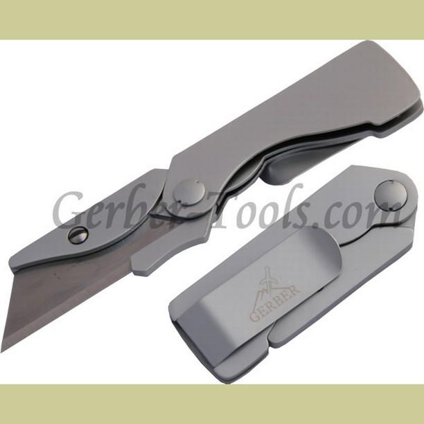 Gerber Edge Aluminum Black 31-000666 Get it at www.Gerber-Tools.com gerbergear gerberknives knives knife