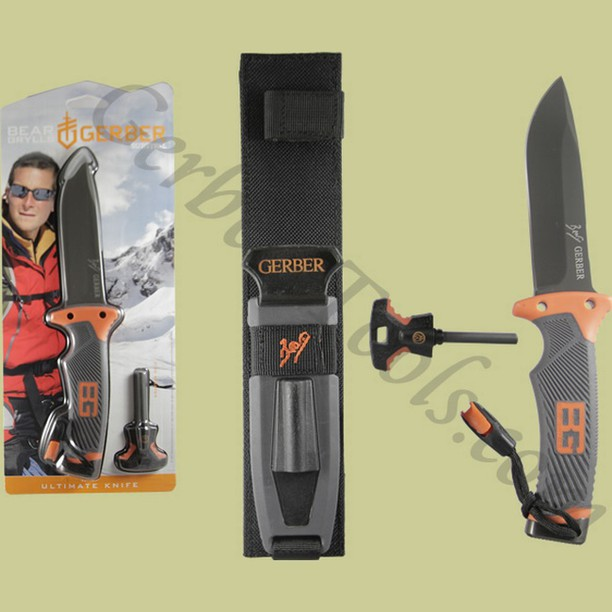 Gerber Bear Grylls Ultimate Knife 31-001063 Get it at www.Gerber-Tools.com gerbergear gerberknives knives knife