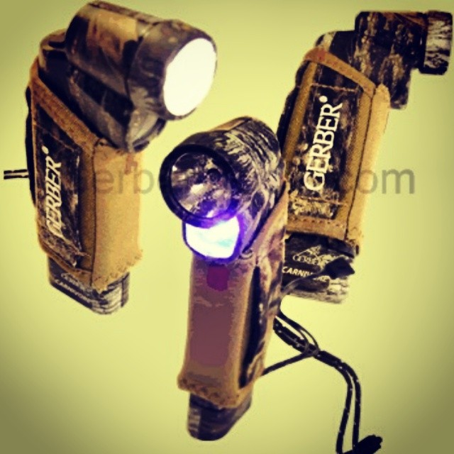 FlashbackFriday to the Gerber Carnivore Mossy Oak 22-80112. This beast of a blood tracking light is perfect for you guys who love even your ammo to be camo! Share your pics with us and visit us at www.Gerber-Tools.com gerbergear mossyoak camo bloodtracker hunting camping flashlight outdoorsmen trophygame gamecamera bugout