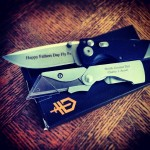 Father's day gifts headed out the door! Take advantage of our $1 laser engraving sale at www.Gerber-Tools.com