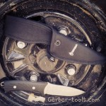 The old but still great Gerber Big Rock Camp Knife to check this out view our website.