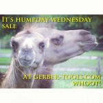 Hump day sale going on now at Gerber-Tools.com. Check out our Facebook page at facebook.com/GerberKnivesAndTools for details.