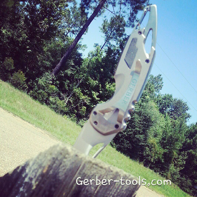 The great out doors with some Gerber .This great knife and many others on gerber-tools.com camping knifefanatics gerbergear