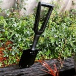 So what if it's raining. We're going anyway! While supplies last we are letting the Gerber E-Tool Folding Spade go for $39.99! GERBER-TOOLS.COM/E-TOOL