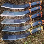 Gerber Parang 31-002289 Survival machete. These have been custom engraved for the 2016 Annual Harrisment and Fish Massacre give away prize. Comes with a nylon sheath.