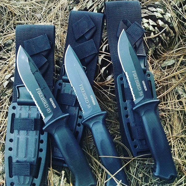Gerber Prodigy 22-01221 Fixed Blade. Comes with kydex sheath. Engraved for these Firebird Brothers. gerber prodigy fixed blades kydex sheath