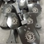 Gerber Gorge Spades engraved for one of our beloved customers. Thank you for your business! GERBER-TOOLS.COM