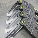 Laser engraving for Happy Trails. Thank you for your business! Gerber-Tools.com knives