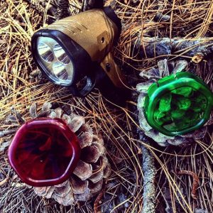 Gerber Myth Spotlight w/ Red and Green Lense Covers 31-001857