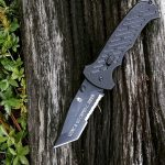 Gerber 06 Fast Knife30-000118. Tanto blade engraved for this special Marine. Enjoy and I hope this knife serves you well. Thanks for your service to our country.
