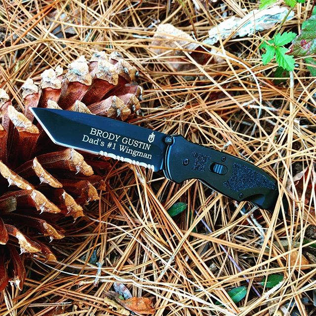 Gerber Answer 3.25 F. A. S. T. Knife 22-41970 or 22-01970. This tanto tip partially serrated knife is super fast!! Gets yours personally engraved in bookmans old style font  today at gerber-tools.com ! #gerber #answer # fast #22-41970 #22-01970