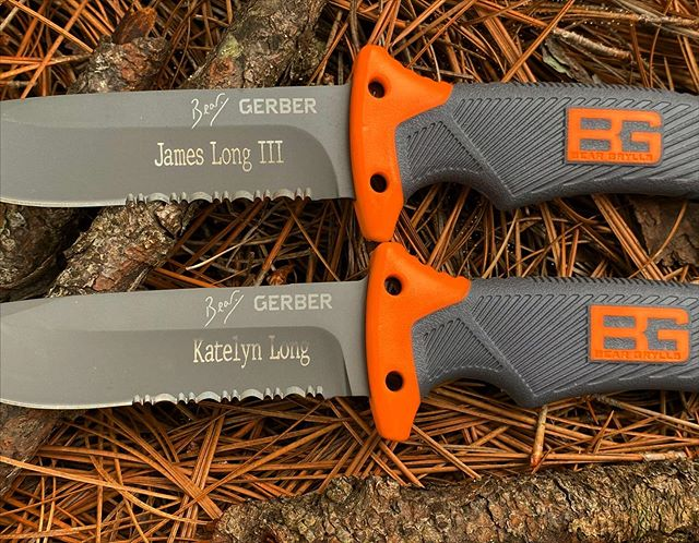 Gerber Bear Grylls Scout Knife 31-000754 is ready for your next epic trip. Take the scout with you and let him do your work. #gerberbeargylls #scoutknife #31-000754 #epictrip #engravedknives
