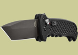Gerber 06 Auto Knife w/ Fine Edge Tanto Blade G-10 Handle 30-001296