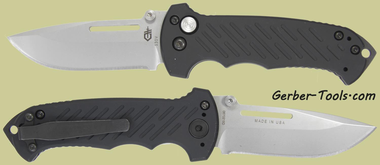 Gerber 06 Manual Combat Folder Knife 30-000462