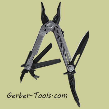 Gerber Center-Drive Multitool with sheath and bit set 31-003074
