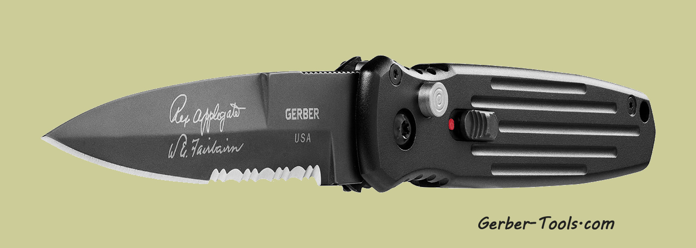 Gerber Covert Auto - Serrated 30-000137