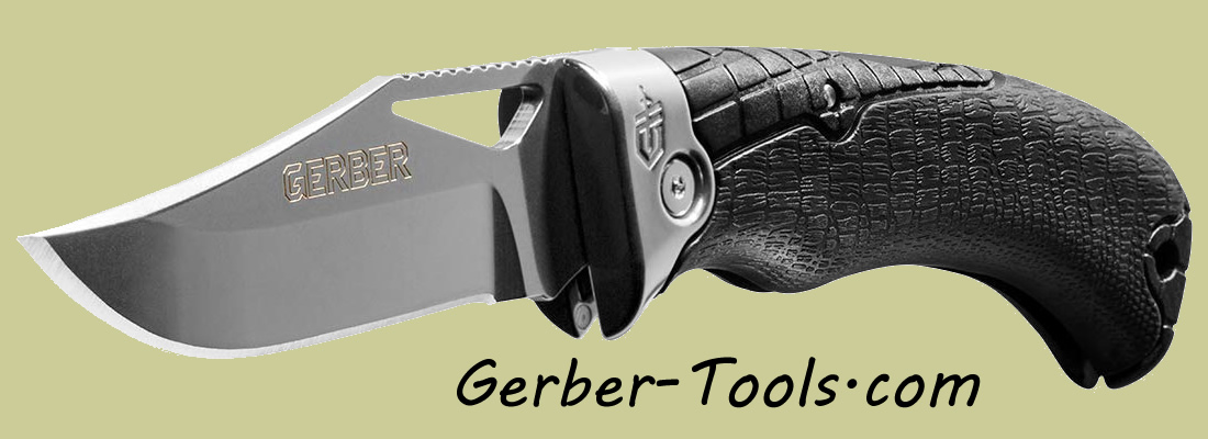 Gerber Gator Premuim Folding Knife 30-001085