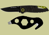 Gerber Guardian D2 2.5in Folding Clip Knife and Tactical Tool