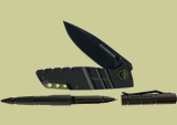 Gerber Guardian D2 Knife and Tactical Pen Set 31-002455