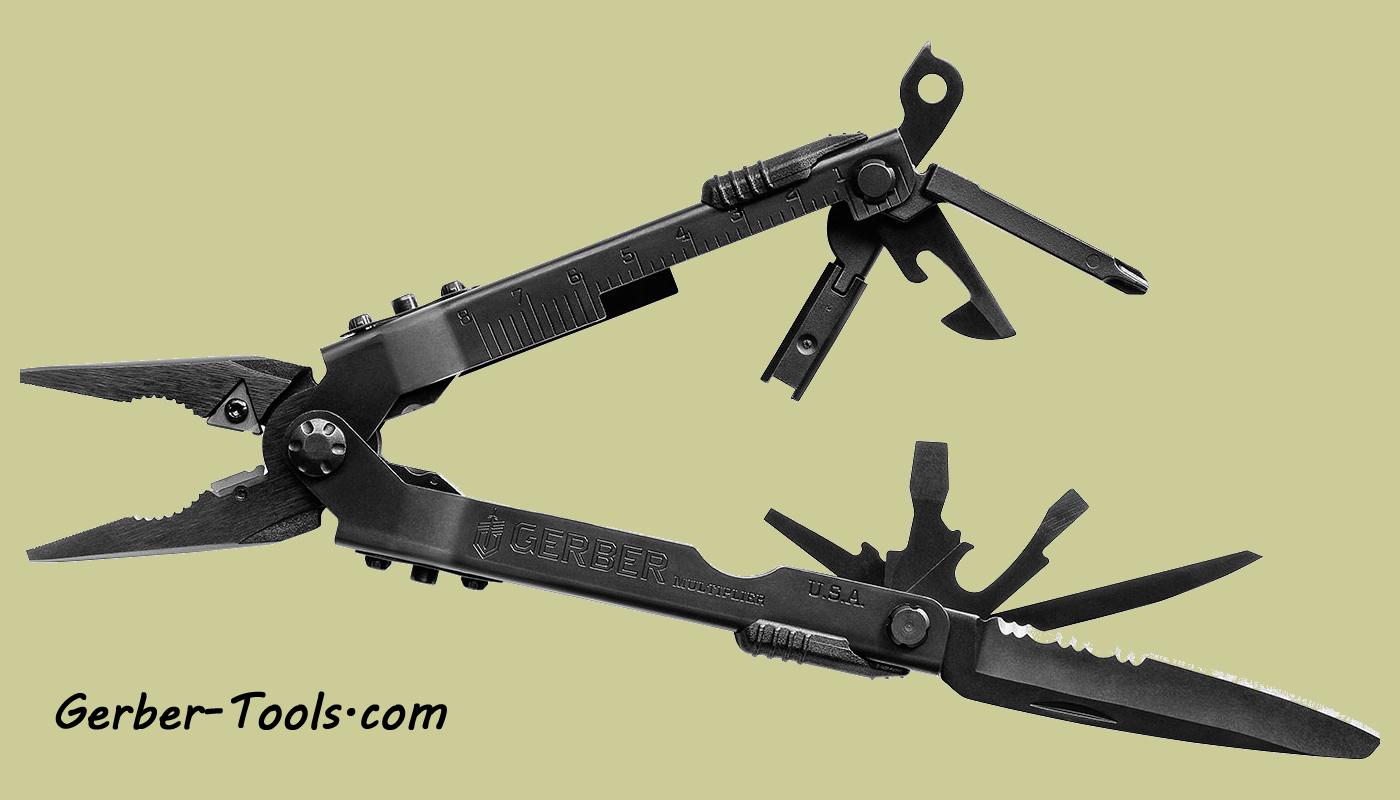 Gerber Multi-Plier 600 Multi-Tool Black Oxide w// Sheath B85