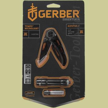 Gerber Ripstop I Knife and Tempo Flashlight Combo 31-002367