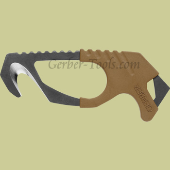 Gerber Safety Hook Knife Coyote Brown 30-000132