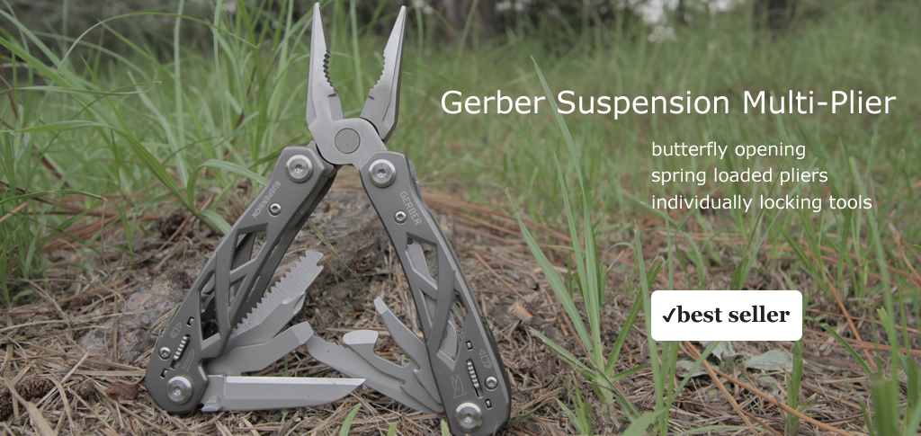 Gerber Suspension Multitool Multi-Plier Tool 22-01471 22-41471